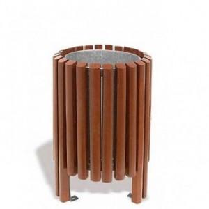 Cosuri de gunoi din lemn/ beton