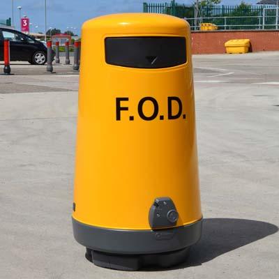 Cosuri de gunoi pentru aeroporturi (F.O.D)
